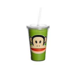 "Paul Frank ""Cup with Straw"" (Becher mit Strohhalm)"