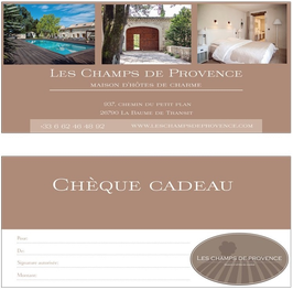 Voucher for the room Lavande