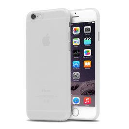 A&S CASE für iPhone 6/6s Plus, Arktisweiß, 0.35mm