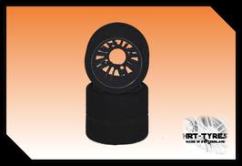 Pro 10 Feucht - Heckreifen 200mm - Paar Carbon