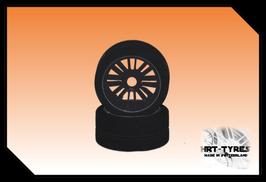 Pro 10 Frontreifen 200mm - Paar Carbon