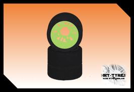 Pro 10 Heckreifen 235mm - Paar Nylon Gelb