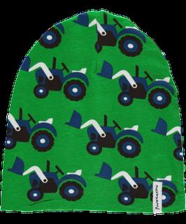Maxomorra Mütze Traktor grün