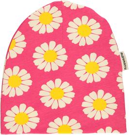 Maxomorra Mütze Daisy pink