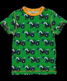 Maxomorra T-Shirt Traktor grün Nr. 5