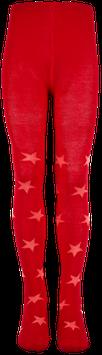 Mala Strumpfhose Sterne rot