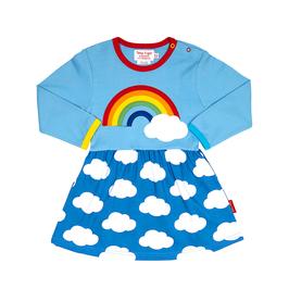 Toby Tiger LA Kleid Regenbogen und Wolken
