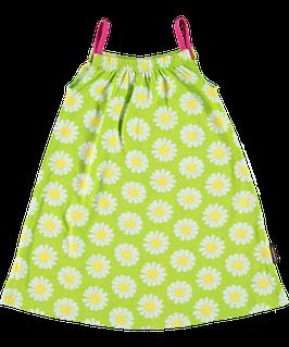 Maxomorra  Kleid mit Spagettiträgern Daisy grün