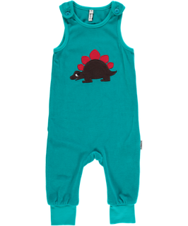 Maxomorra Playsuit velour Dino