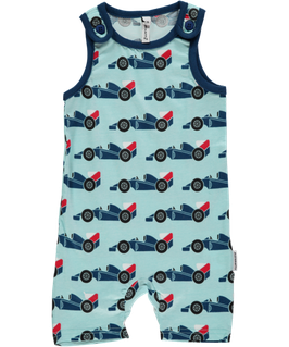 Maxomorra Playsuit kurz Rennwagen