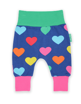 Toby Tiger Yoga Pants Herzen print