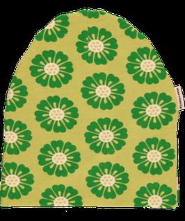 Maxomorra Mütze  Calendula grün