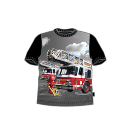 Me Too T-Shirt Feuerwehr schwarz