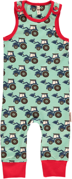 Maxomorra Playsuit Traktor für Minis
