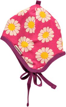Maxomorra Babymütze Daisy pink