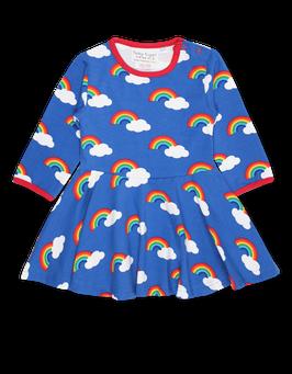Toby Tiger LA Kleid Regenbögen print