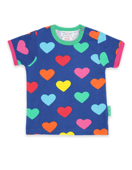 Toby tiger KA Shirt Herzen print