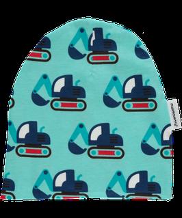 Maxomorra Mütze Bagger blau