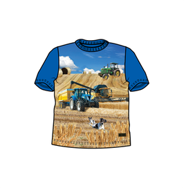 Me Too T-Shirt Traktor blau