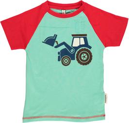 Maxomorra T-Shirt Traktor Nr.4 Druck