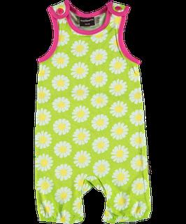 Maxomorra Bib Shorts Daisy grün