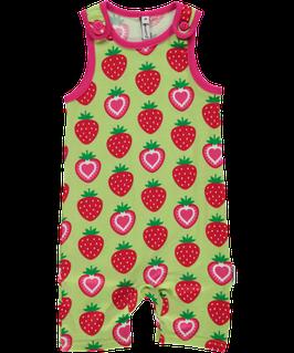 Maxomorra Playsuit kurz Erdbeere