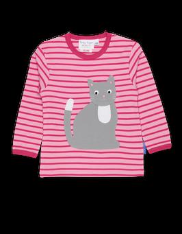 Toby Tiger LA Shirt Katze rosa