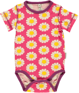 Maxomorra Body Daisy pink
