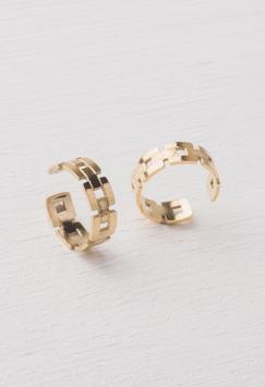 1 Laurel Gold Ear Cuff