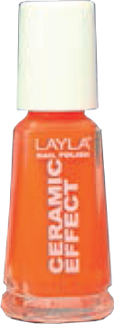 Layla Ceramic Effect 109 Orange Fluo