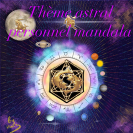Création d'un Mandala personnalisé  du thème Natal