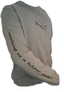 "Longsleeve ""sailing is a ....."""