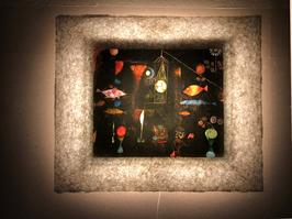 クレー「Fish Magic」と和紙ックセット