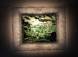 セザンヌ「ヴィクトワール山」と和紙ックセット