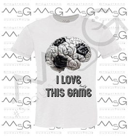 """T-shirt """"I love this game """" Bambino"""