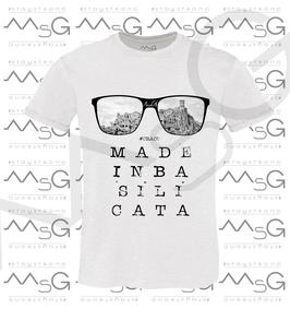 "T-shirt ""Craco "" MadeInBasilicata :) Uomo"