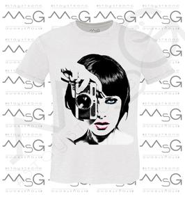 "T-shirt ""Photo"" -  Bambina"