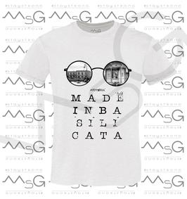 """T-shirt """"Potenza"""" MadeInBasilicata :) Uomo"""
