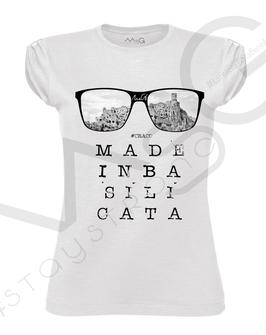 "T-shirt ""Craco"" MadeInBasilicata :) Donna"