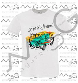 "T-Shirt ""Let's Travel"" Bambino"