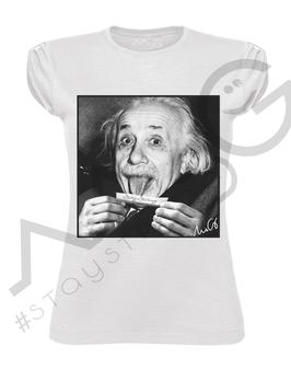 """T-shirt """" EinsteinRizla """" - Woman"""