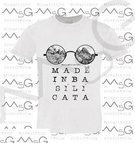 "T-shirt ""Dolomiti "" MadeInBasilicata :) Uomo"