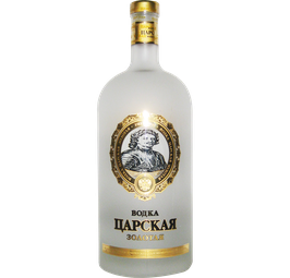 Vodka Zarskaya Gold