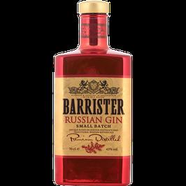 Barrister Russian Gin 0,7 Liter