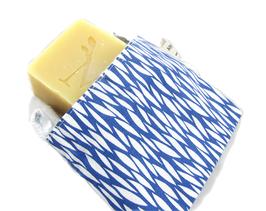 Pochette à savon coton