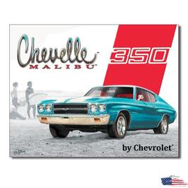 """#1491 - Chevrolet Blechschild """"Chevelle Malibu"""""""