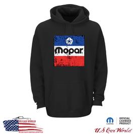 MOPAR Hoody - MOPAR Sweatshirt Kapuzenpullover mit MOPAR Classic Frontprint