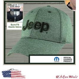 Jeep Basecap - Jeep Logo - Grün Melange