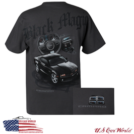 Chevrolet Camaro T-Shirt - Camaro Black Magic - Charcoal
