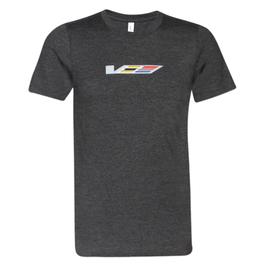 Cadillac V-Series T-Shirt - Cadillac V-Series Charcoal - lizensiert